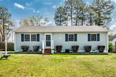 Hopewell Single Family Home For Sale: 363 Red Oak Drive
