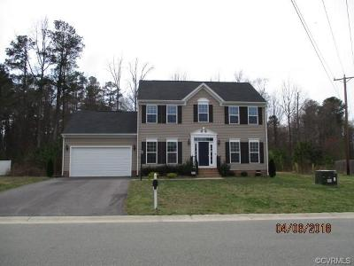 Chester Single Family Home For Sale: 10718 Ethens Mill Road