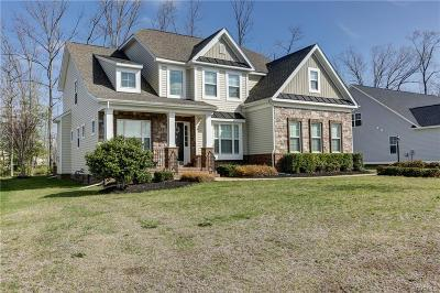 Midlothian Single Family Home For Sale: 1106 Miners Trail Road