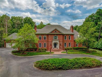 Goochland County Single Family Home For Sale: 607 Dover Bluff Circle