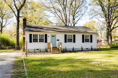 Richmond Single Family Home For Sale: 5215 Stratton Road