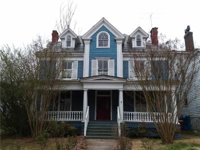 Petersburg VA Single Family Home For Sale: $140,000