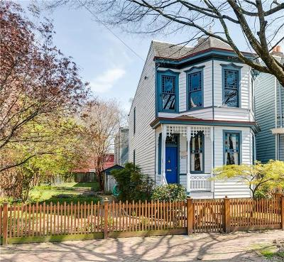 Richmond Single Family Home For Sale: 603 North 27th Street