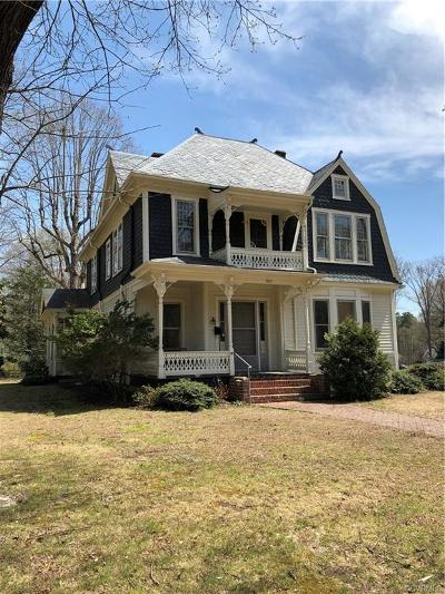 Nottoway County Single Family Home For Sale: 811 Brunswick Ave