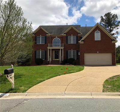 Chester Single Family Home For Sale: 13401 Silverdust Lane