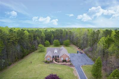 Hanover County Single Family Home For Sale: 14478 Overlook Ridge Lane