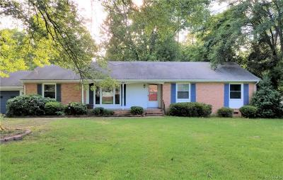 Chester Single Family Home For Sale: 10830 Weybridge Road