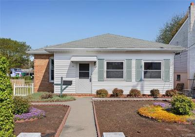 Colonial Heights VA Single Family Home For Sale: $138,720