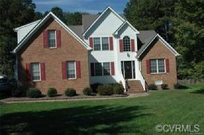 Chester Single Family Home For Sale: 14224 Beachmere Drive
