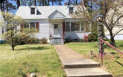 Colonial Heights Single Family Home For Sale: 206 Crescent Avenue