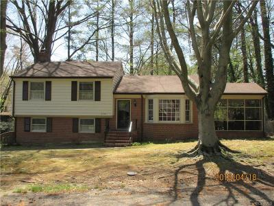 Richmond Single Family Home For Sale: 6743 Monitor Road