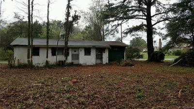 Powhatan Single Family Home For Sale: Anderson Highway
