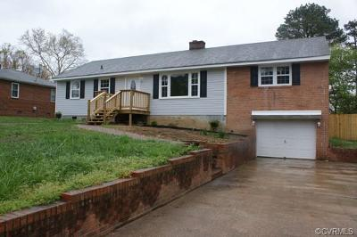 Richmond Single Family Home For Sale: 7613 Antionette Drive