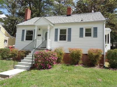 Colonial Heights Single Family Home For Sale: 819 Kensington Avenue
