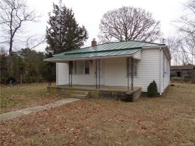 Louisa Single Family Home For Sale: 1120 Courthouse Road