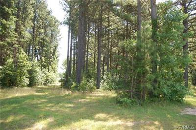 Nottoway County Residential Lots & Land For Sale: 1103 Stingy Lane