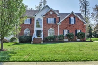 Chester Single Family Home For Sale: 8006 Hampton Station Court