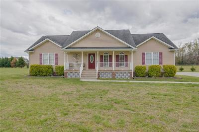 Mechanicsville Single Family Home For Sale: 3421 Old Church Road