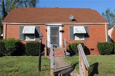 Richmond Single Family Home For Sale: 1609 South Gunn Street