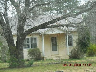 Dinwiddie County Single Family Home For Sale: 9915 Boisseau Road