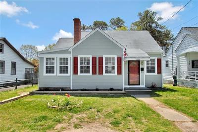 Henrico Single Family Home For Sale: 2509 Maplewood Road