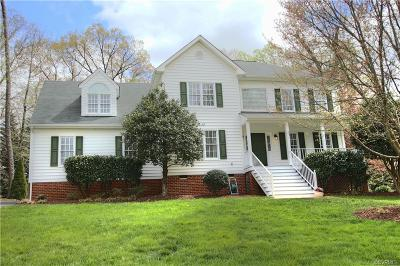 Mechanicsville Single Family Home For Sale: 9137 Walnut Spring Place