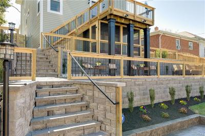 Richmond Single Family Home For Sale: 2610 The Terrace