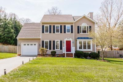 Chester Single Family Home For Sale: 10304 Oakside Drive