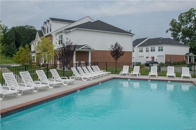 Hanover County Condo/Townhouse For Sale: 7374 Pebble Lake Drive #3