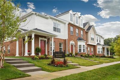 Hanover County Condo/Townhouse For Sale: 7380 Pebble Lake Drive #6