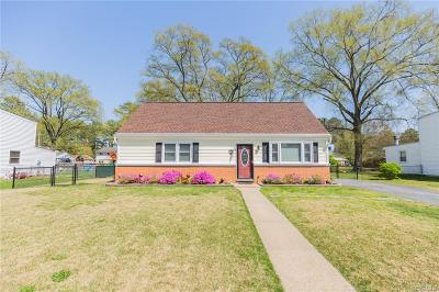 Henrico Single Family Home For Sale: 9505 Bonanza Street