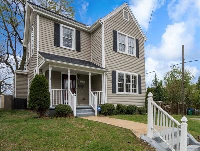 Richmond Single Family Home For Sale: 1212 North 23rd Street