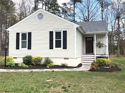 Henrico Single Family Home For Sale: 2600 Tracewood Circle