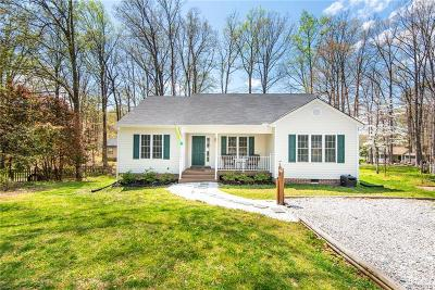 Midlothian Single Family Home For Sale: 2824 Iverson Road