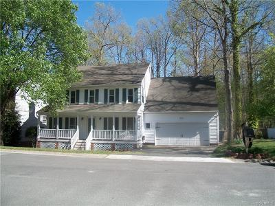 Chester Single Family Home For Sale: 4700 Cedar Cliff Road