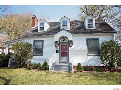 Richmond Single Family Home For Sale: 3007 Forest Hill Avenue