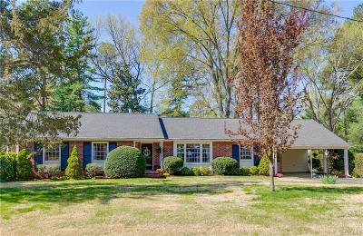 Richmond Single Family Home For Sale: 10201 Merrigan Road