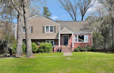 Henrico Single Family Home For Sale: 8412 Zell Lane