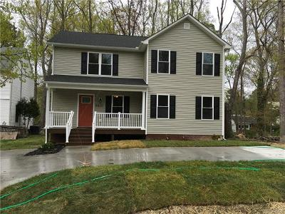 Henrico Single Family Home For Sale: 8820 Midway Road