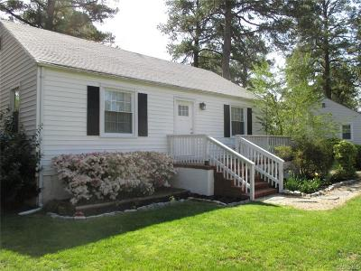 Richmond Single Family Home For Sale: 1507 Fort Hill Drive