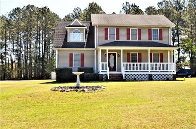 Dinwiddie County Single Family Home For Sale: 25025 Forest Avenue