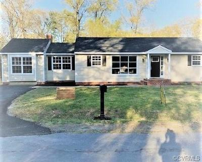 Henrico Single Family Home For Sale: 8505 Hood Drive