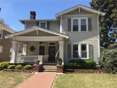 Petersburg Single Family Home For Sale: 1830 Matoax Avenue