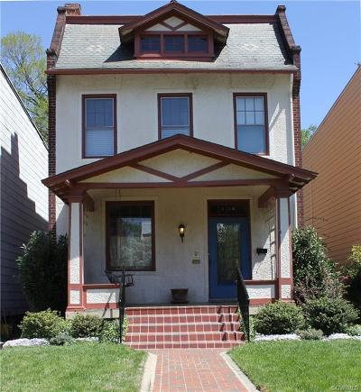 Richmond Single Family Home For Sale: 3124 Floyd Avenue