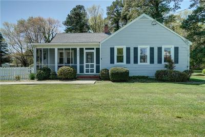 Single Family Home Sold: 3596 Weems Road