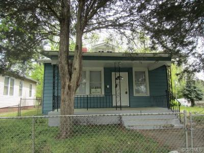 Richmond Single Family Home For Sale: 1619 Rogers Street