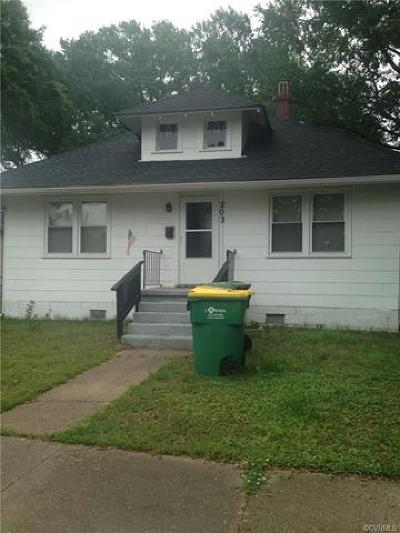 Hopewell Single Family Home For Sale: 203 South 4th