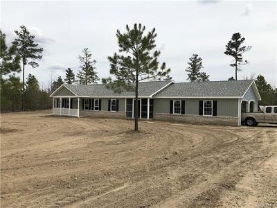 Charles City Single Family Home For Sale: 3 Pineoak Grove