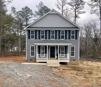 King William County Single Family Home For Sale: 103 Birmingham Circle