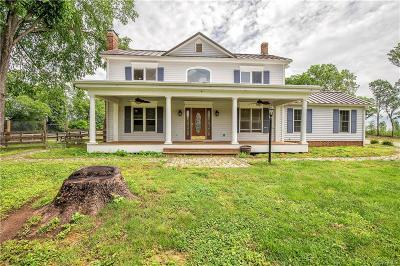 Powhatan Single Family Home For Sale: 2766 Ballsville Road